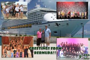 Dance on a cruise ship