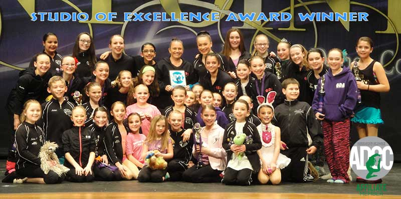 ADCC Studio of Excellence award and Affiliate Member