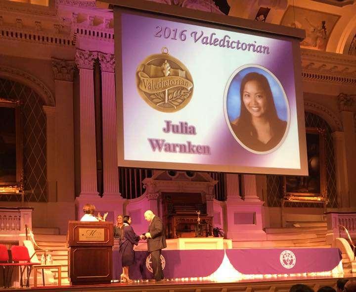SPM Valedictorian 2016 Julia Warnken