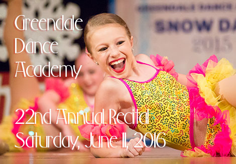 Greendale Dance Academy Annual Dance Recital