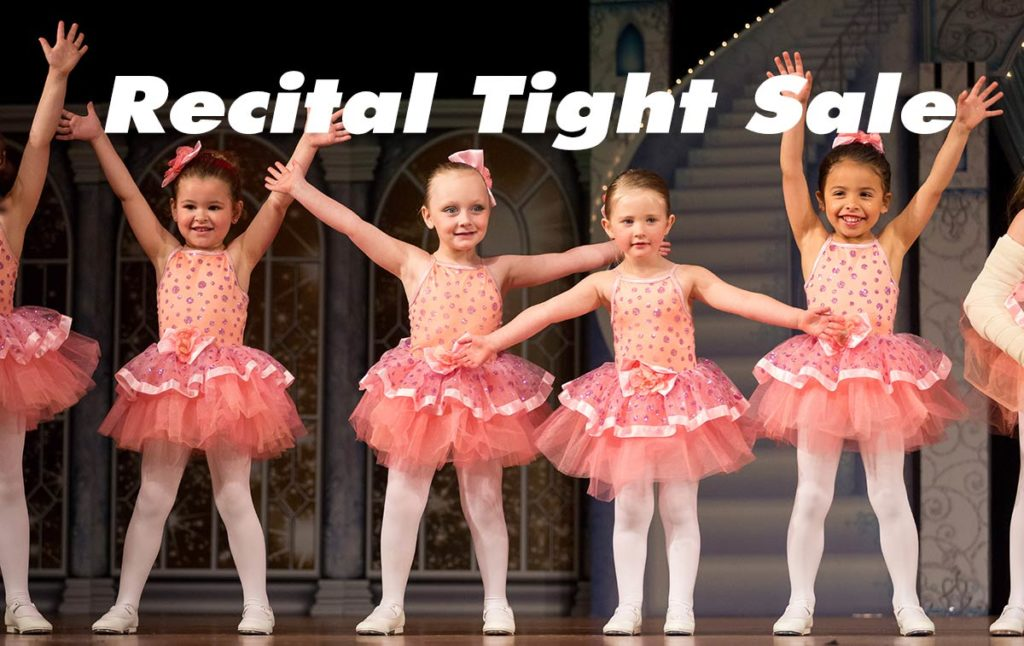 Recital Tights Sale with Dancer's Boutique at GDA