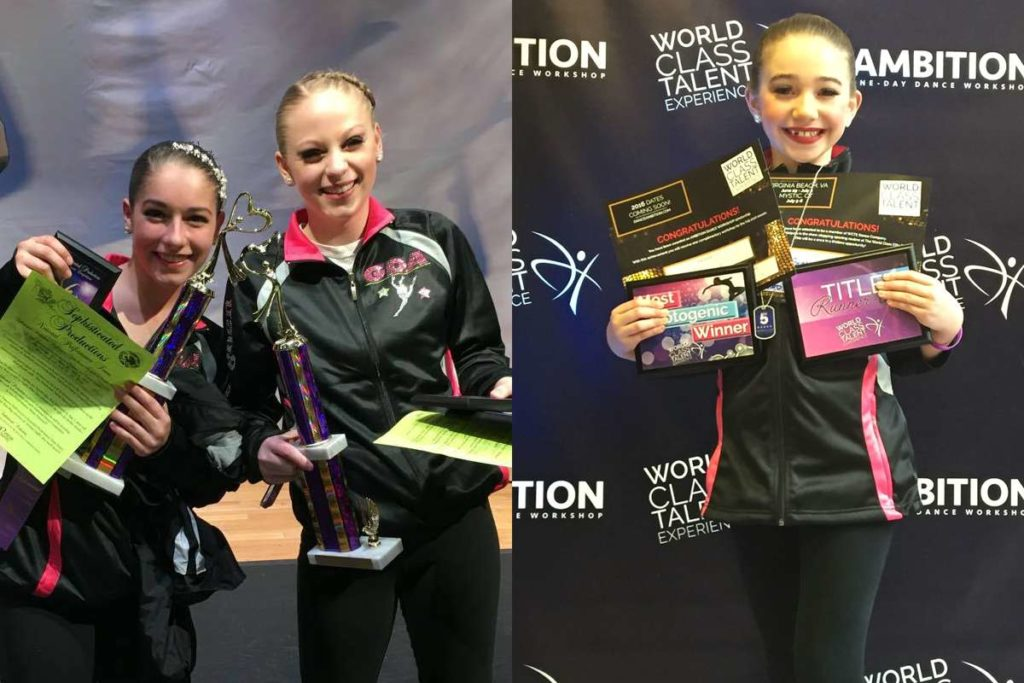 Greendale Dance Academy Soloists compete at World Class Talent Experience and Sophisticated