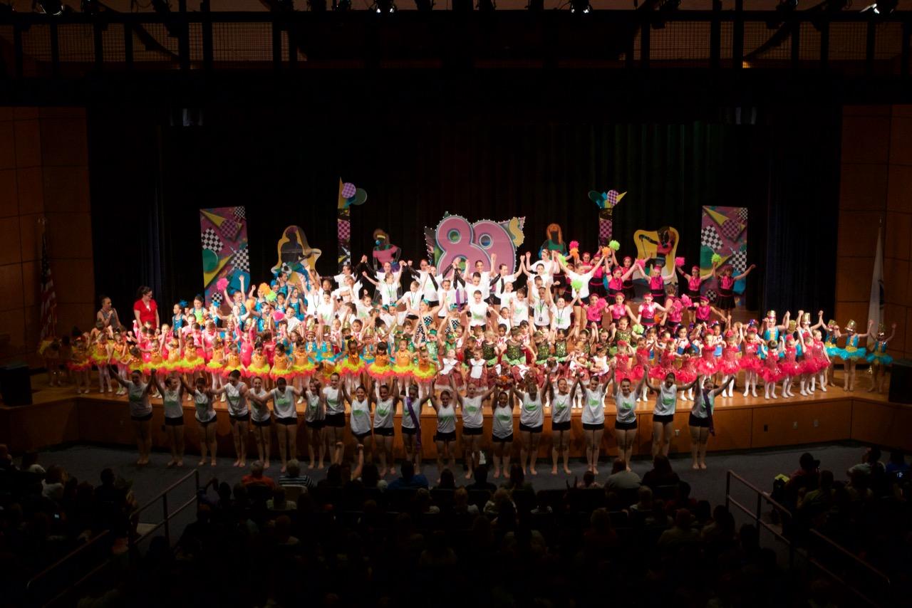 Greendale Dance Academy 80's Recital