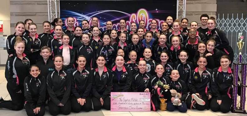Greendale Dance Academy dance for Sophias FUNd at Power of Dance