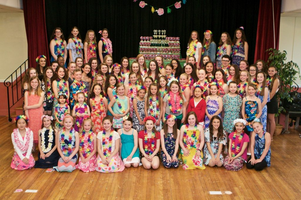 Greendale Dance Academy Competition Team 2017