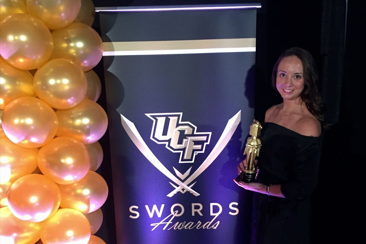 Maria Renzoni UCF Knightmoves Dancer
