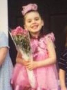 Sarah Soltys first dance recital.