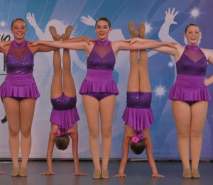 Sarah Soltys performing in Disney World with Greendale Dance Academy