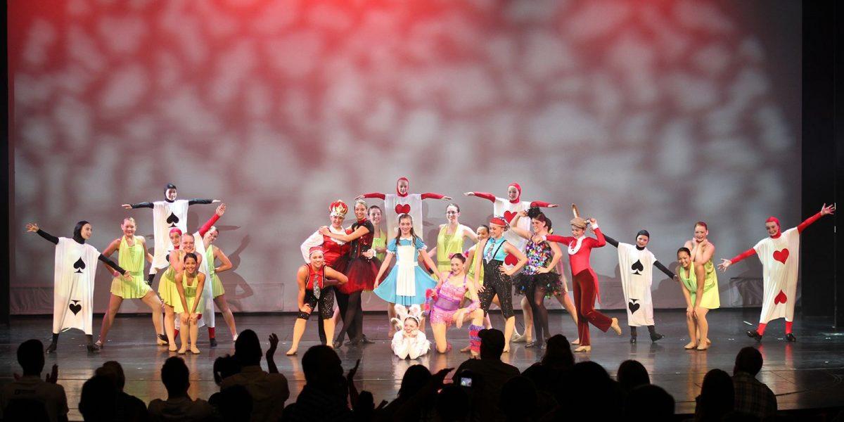Sarah Soltys Alice in Wonderland Greendale Dance Academy