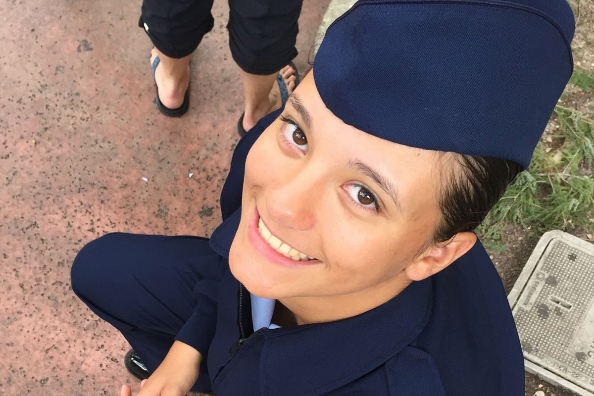 Stephanie US Air Force GDA Dancer