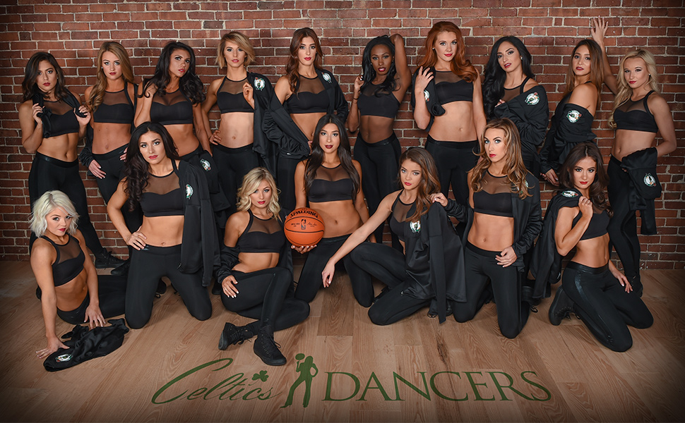 Celtics Dancer Mazie