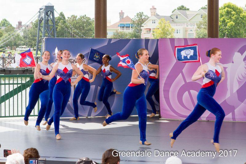 Greendale Dance Academy Dancing in Disney Performing Arts