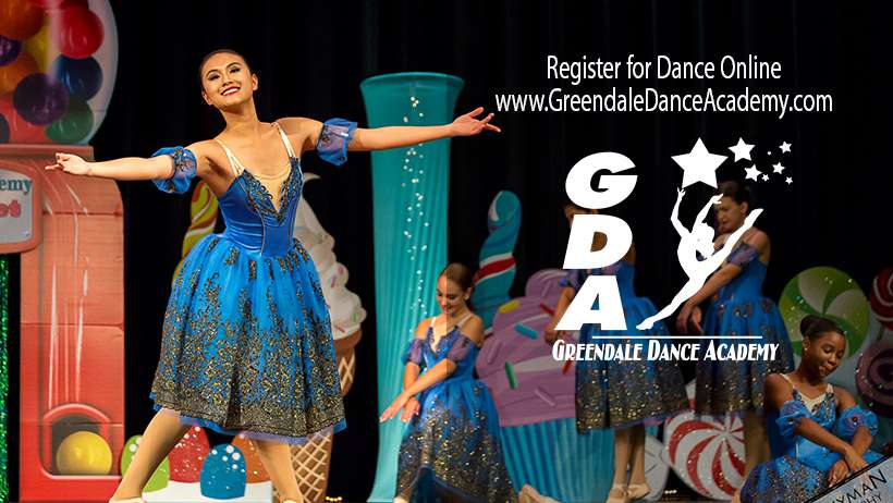register for dance at Greendale Dance Academy