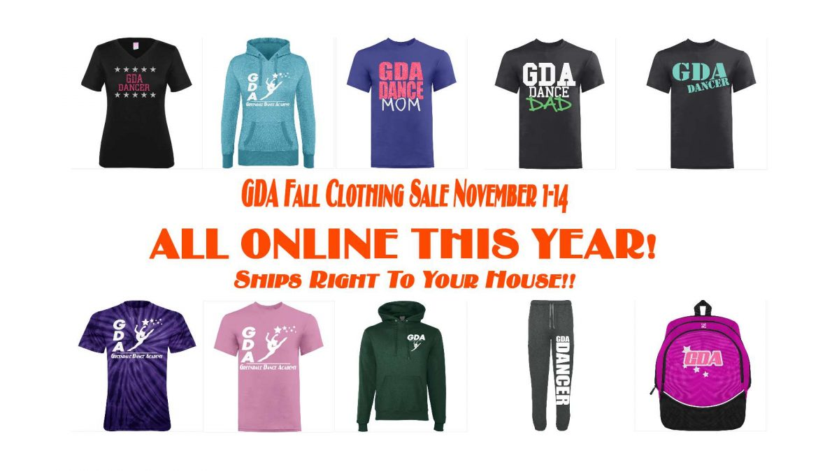 GDA Clothing Sale