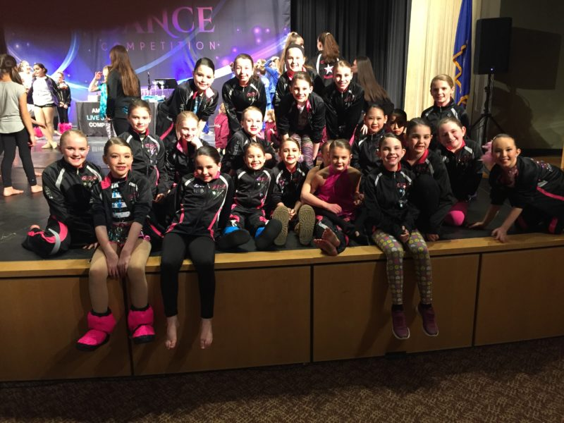 Greendale Dance Academy Competition Team at Diva Dance Competition