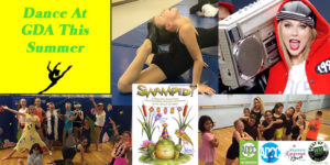 Summer Dance classes at GDA for boys and girls.