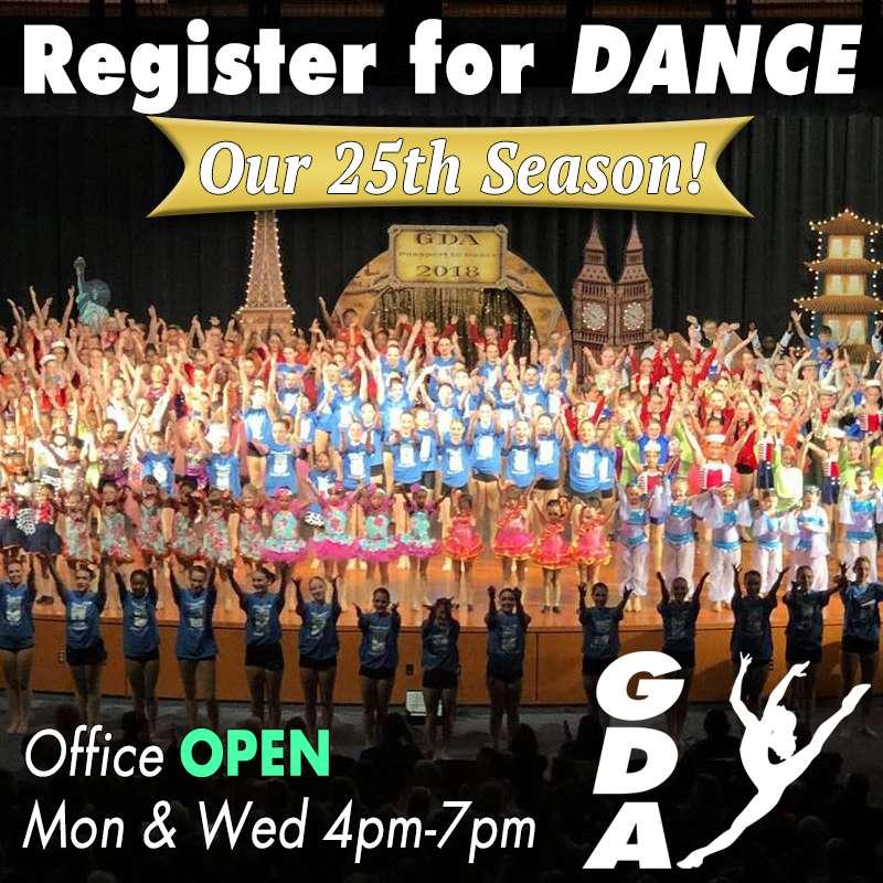 Office Open Register For Dance