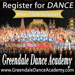 Register to dance at Greendale Dance Academy
