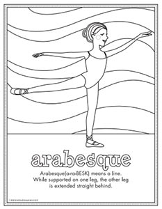 Arabesque Activity