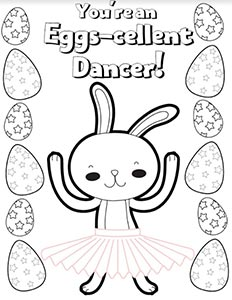Eggselent Dancer
