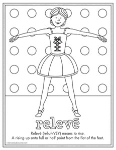 releve coloring page
