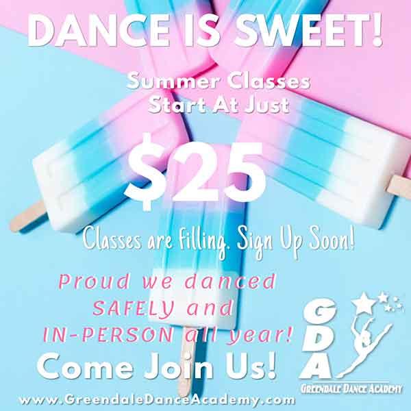 Register for Dance